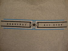 Converse All Star Chuck Taylor Official Apparel Gray Distressed T Shirt M