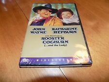 ROOSTER COGBURN AND THE LADY JOHN WAYNE KATHARINE HEPBURN DVD SEALED NEW