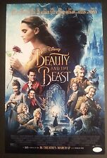 BEAUTY AND THE BEAST Cast(x3) Authentic Signed EMMA WATSON 11x17 Photo (JSA COA)