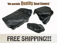 *HONDA GL500 I '81-'82 *HEAT EMBOSSED* RIDER PILLION REST SEAT COVER *HSOS-A/S/O