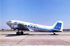 Postcard 134 - Plane/Aviation DPR 25. Douglas DC3 Paradak VH-CAN