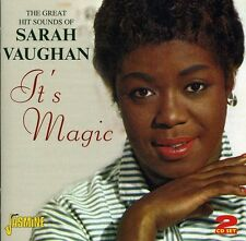 Its Magic - Sarah Vaughan (2011, CD NEUF)2 DISC SET