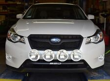 2013-2015 Subaru XV Crosstrek RALLY LIGHT BAR, Bull Bar, 4 Light Mounting Tabs!
