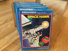 SPACE HAWK -- for INTELLIVISION Video Game System FRESH CASE --  BRAND NEW NOS