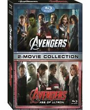 Marvel's Avengers 2-Movie Collection (Blu-ray, 2016) 11/29/16 Release NEW SEALED