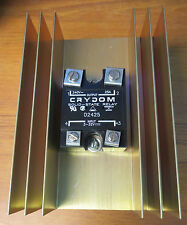 Crydom D2425 Solid-State Relay W/ Heat Sink