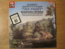 "RICHTER / BORODIN QUARTET ""Schubert: The Trout"" orig ASD 4032 (digital)"
