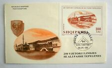 Ali Pashe Tepelena. Albanian Stamps 1995. Official FDC. Block 102.