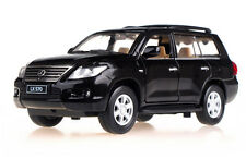 1:32 Lexus LX570 Off Road Car with sound and light alloy pull back toy car model