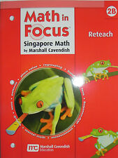 Math In Focus Singapore Math Reteach Grade 2 Book B by Marshall Cavendish
