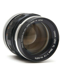 Canon FL 58mm f1.2 lens, very good condition