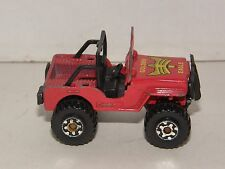 VINTAGE 1981 1:85 SCALE MINIATURE REPLICA TOY MODEL CAR 4x4 VEHICLE COLLECTORS