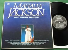 Mahalia Jackson Haar Grootste Successen inc You'll Never Walk Alone + LP