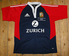 BRITISH LIONS 2005 Tour Rugby Union AWAY Shirt Jersey MATCH DETAIL EMBROIDERY M