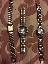 Lot of 3 Womens Watches - Seiko, LA Express, Geneva