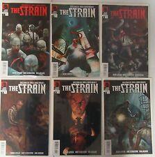 The Strain #1 3 4 5 6 7 Run Lot 6 Comics First Prints Guillermo Del Toro