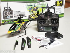 """RC Remote Control 16"""" V912 Large Metal Gyro RC Helicopter Yellow RTF"""