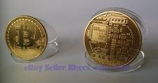 Nice BTC Collectible Physical Souvenior Coin 1Ounce Brass 1Pcs Free Shipping