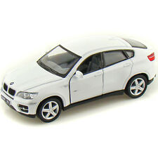 Kinsmart BMW X6 Die-cast Pull Back Action Metal Car (White)