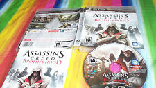 Assassin's Creed: Brotherhood  (Sony Playstation 3, 2010) USED VIDEO GAME NICE