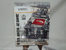 WWII Micro Armour GHQ War Games 1/285 Scale G-580 7.5cm PaK40 (sp) 39H (f)