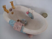 RARE ORIGINAL COLOUR BOX CAT PETER FAGAN HOME SWEET HOME HS214 BATH TUB