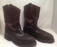 REDWING PullOn Leather Work Motorcycle Biker Cowboy Riding Boots Size 9.5 E2