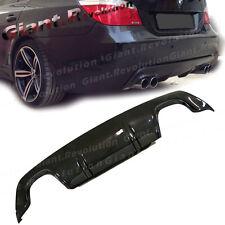 Carbon Fiber 3D Type Rear Bumper Diffuser Fit On 04-10 E61 525i 530i M Sport 4DR