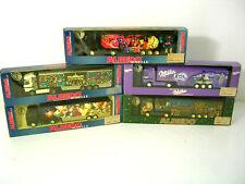 5 Albedo/Herpa  Werbetrucks,Milka,Weihnachten 1998,99,Euro,2000,Neu,unbesp.,OVP
