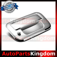 08-16 Ford Super Duty F250+F350+F450 Triple Chrome Plated Tailgate Handle Cover