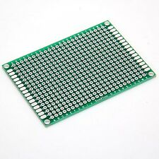 Double Side Prototype PCB Tinned Universal Breadboard 5x7 cm 50mmx70mm hot sales