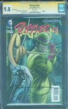 Batman 23.2 CGC SS 9.8 Jeremy Haun Signed 2D Riddler 1 Variant Dawn of Justice