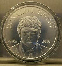 President Donald Trump 1 oz .999 silver coin Make America Great Again rnc eagle