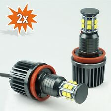 2x H8 120W CREE LED Angel Eyes BMW E60 E61 E63 E70 E71 E82 E89 E90 E91 E92 E93