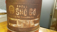 Antique Vintage Red Eagle 6 Gallon Sno Go 509 Snowmobile Gasoline Mixing Can