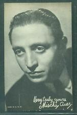 1940'S EXHIBIT ARCADE CARD  ACTOR MISCHA AUER EX VERY SCARCE