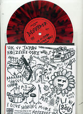 "DISORDER + STAGNATION. 7"" E.P.autograph ""UK vs Japan coloured vinyl.strong mind"