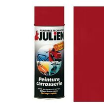 PEINTURE BOMBE CARROSSERIE VEHIDECOR JULIEN ROUGE SANG AUTO MOTO SCOOTER VOITURE