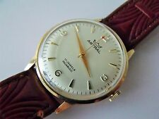 GENT'S VINTAGE .375 9CT GOLD SMITHS ASTRAL PRESENTATION WRIST WATCH