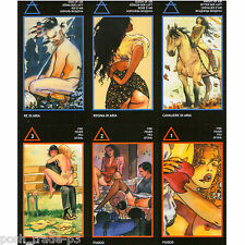 Manara: The Erotic Tarot by Milo Manara 6 Languages Regular