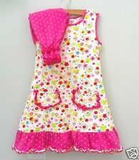 CUSTOM BOUTIQUE Resell 4Ever Princess EU128 6 6X 7 Knit Easter Dress Bloomer Set