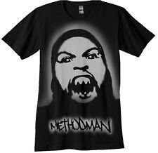 Method Man  airbrush Stencil shirt  Wu Tang Airbrushed
