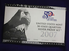 2007 U.S. Mint Silver 50 State Quarters Proof Set