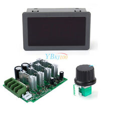 High Power 12V-80V DC 30A Digital LED Display PWM DC Motor Speed Controller