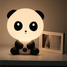 Lovely Panda Cartoon Table Desk Home Night Lamp Kid Bedroom Switch Light 220V