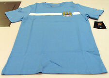 Manchester City 2014-15 Core Tee Shirt Soccer Blue M Youth Boys English