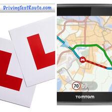 Guida auto percorsi di prova per i centri Regno Unito in formato GPX PER NAVIGATORE SATELLITARE Google Maps