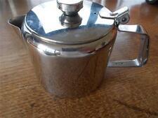 Vtg SUNNEX Retro Stainless Steel Teapot 0.6 litre B&B Catering Cafe Restaurant