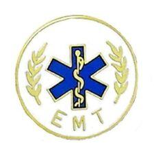 EMT Lapel Pin 5002 Emergency Medical Technician Star of Life Serpent Medical New