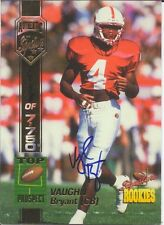 Vaughn Bryant Stanford Cardinal Personally Autographed Card